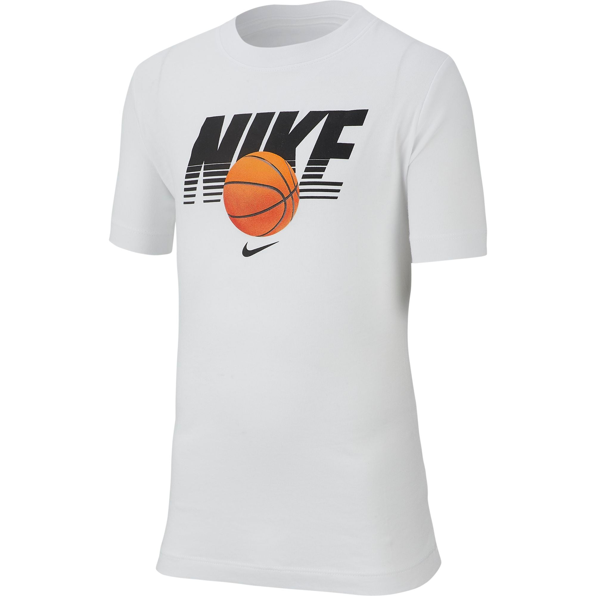 Nike Kids Straight Baller Textured Graphic Tee - NK-CI9610-100