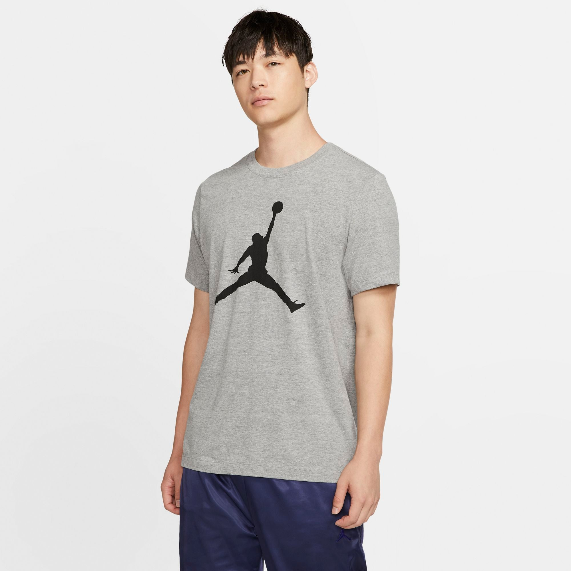 Nike Jordan Jumpman Tee - Carbon Heather/Black