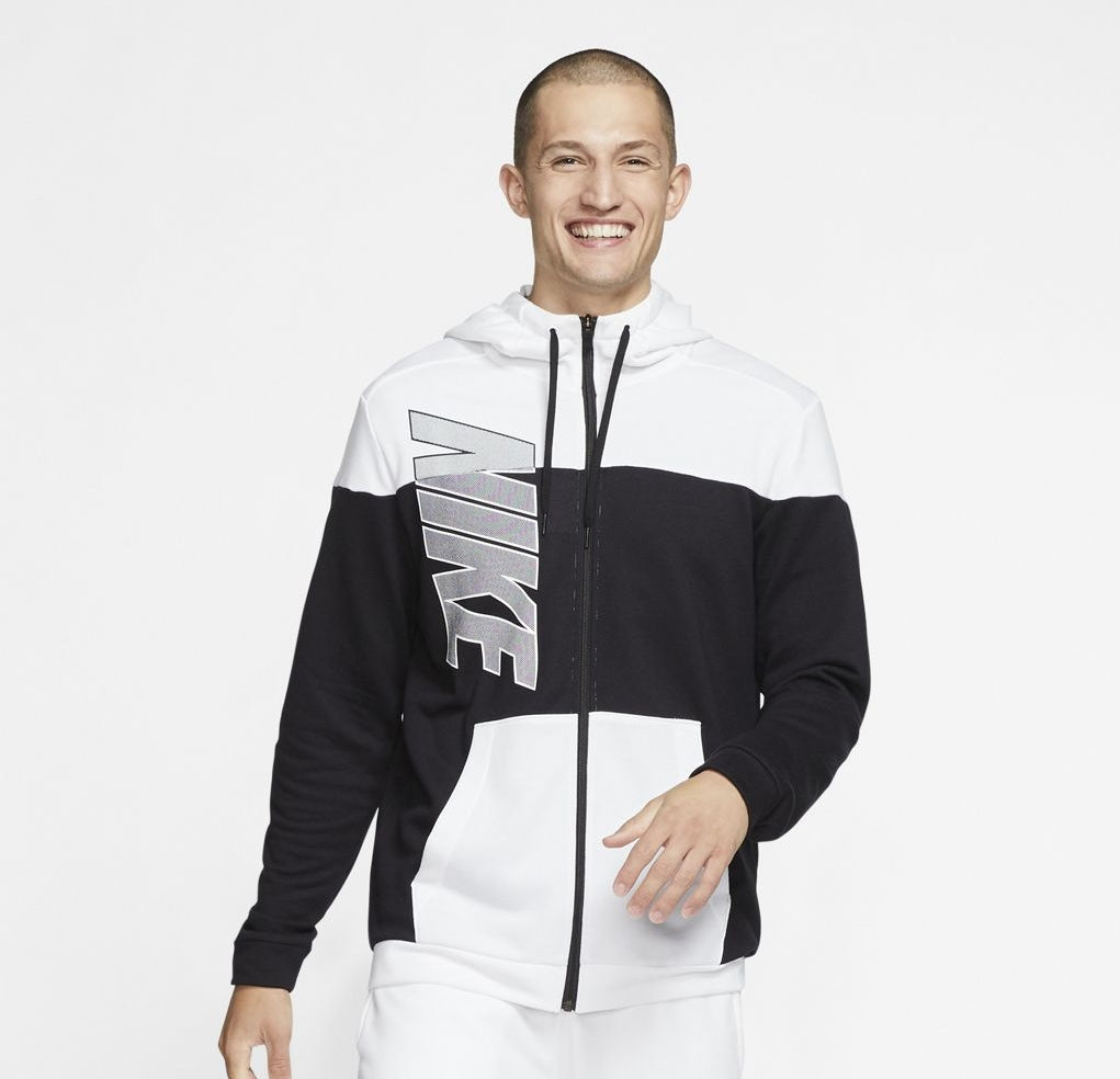 Nike Training Dri-Fit Full-Zip Fleece Hoodie - NK-CJ6681-010