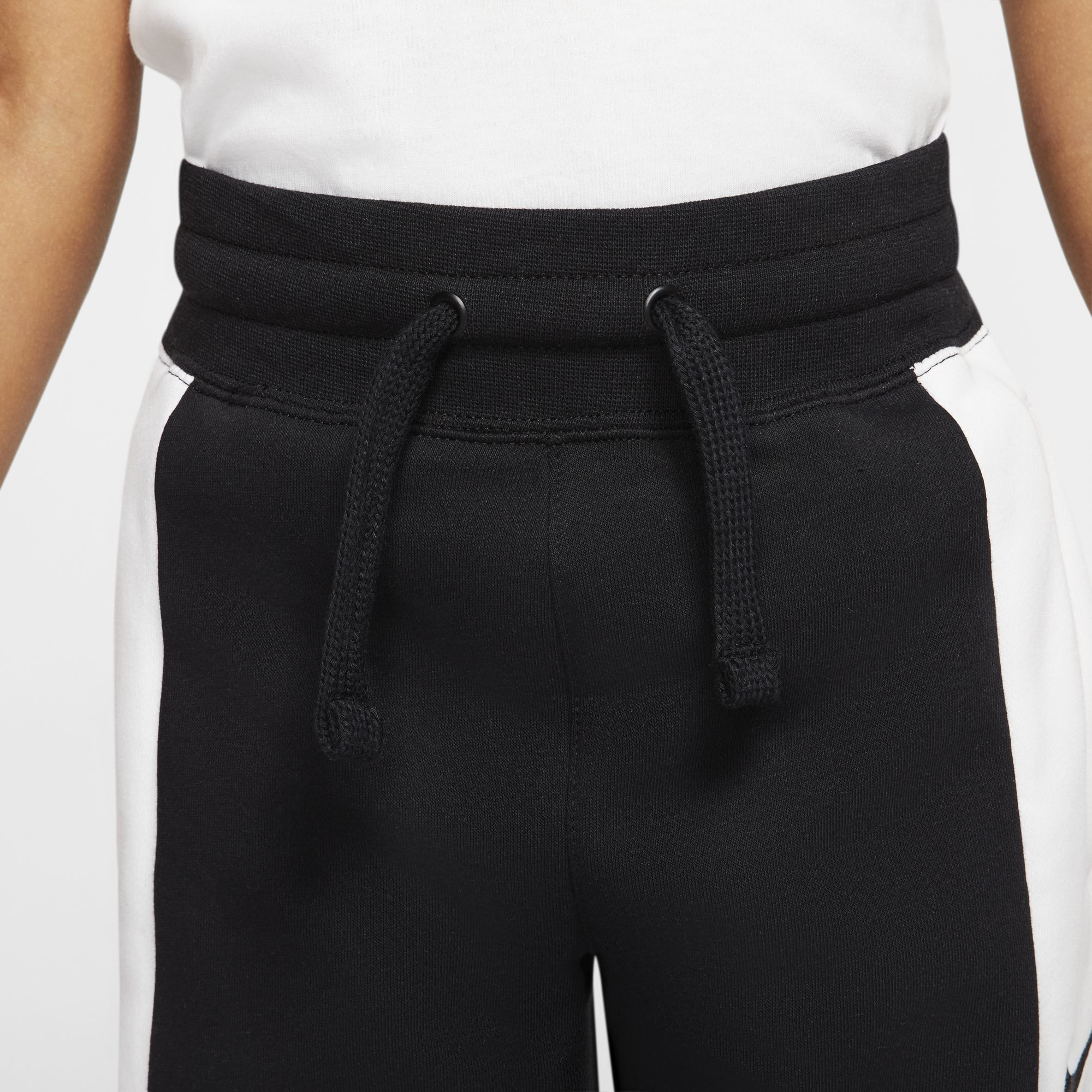 Nike Kids Air Fleece Pants - Black/White
