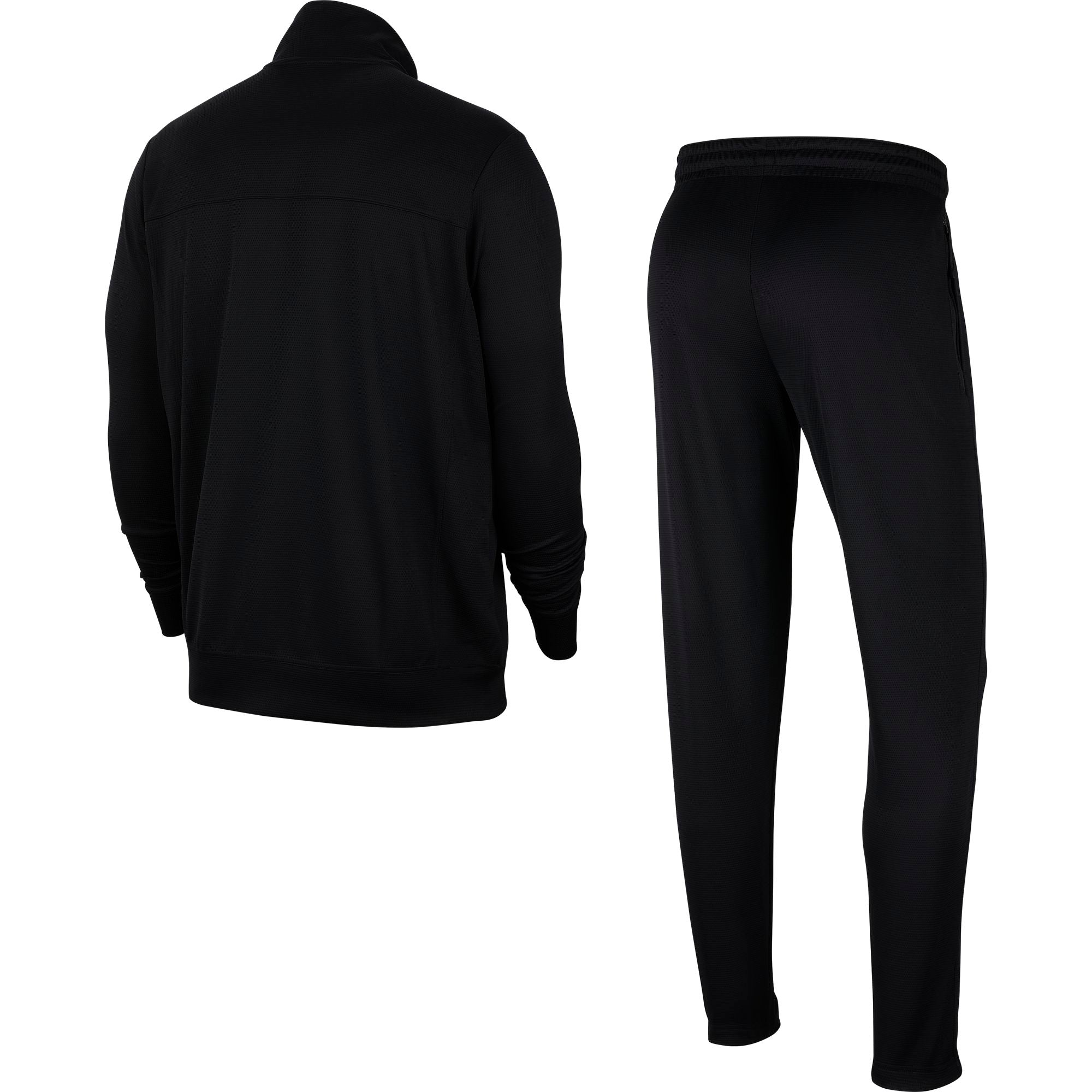 Nike Basketball Rivalry Tracksuit Jacket and Pants - Black/White