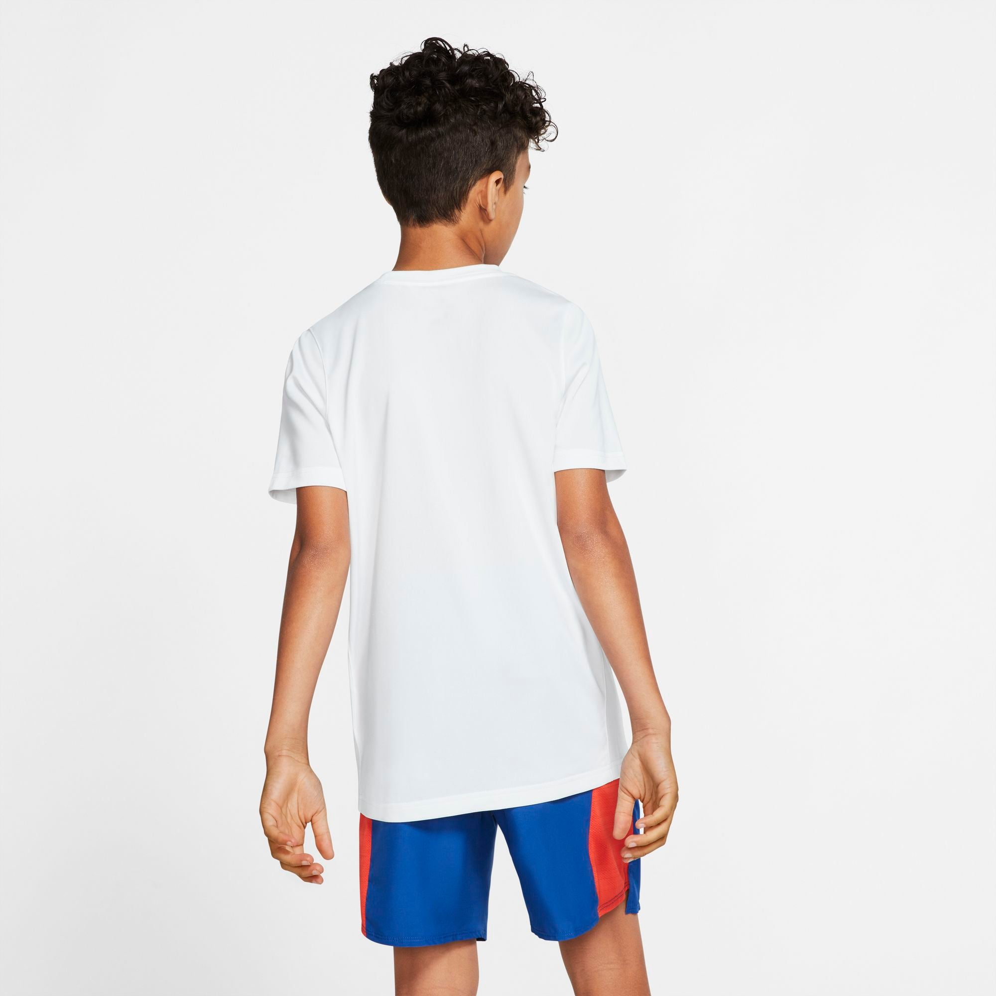 Nike Kids Dri-fit Just Do It Tee - White