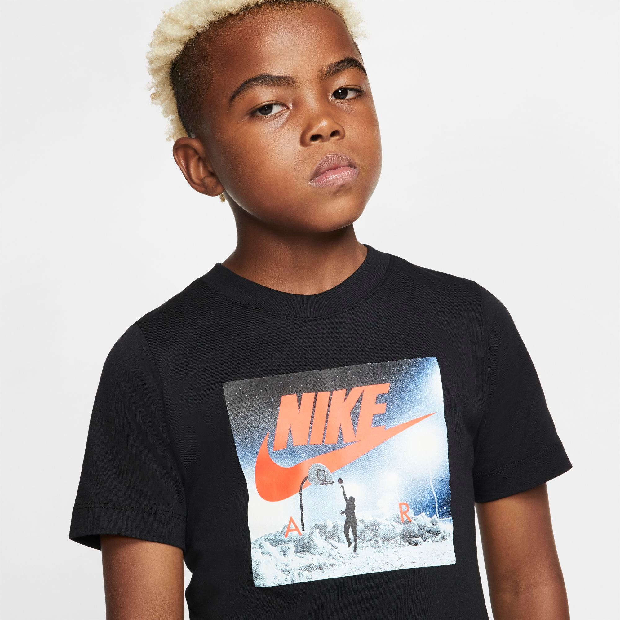 Nike Kids Ready To Play Tee - Black