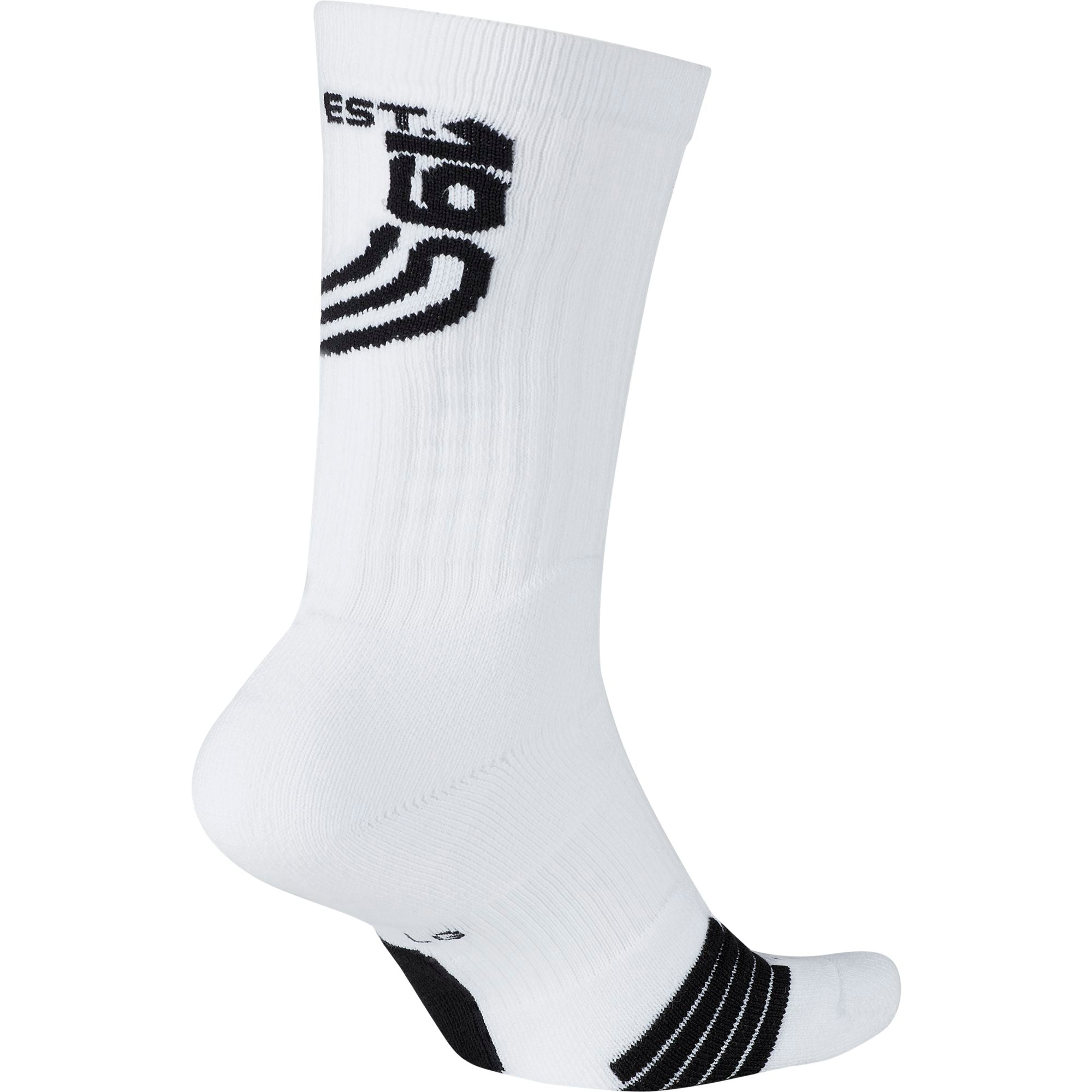 Nike Kyrie Elite Crew Basketball Socks - White/Black