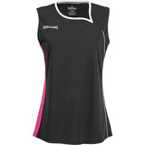 Spalding 4Her II Basketball Top - Black/Pink/White SP-3002411-04