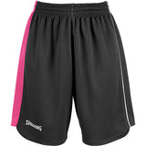 Spalding 4Her II Basketball Shorts - Black/Pink/White SP-3005411-04