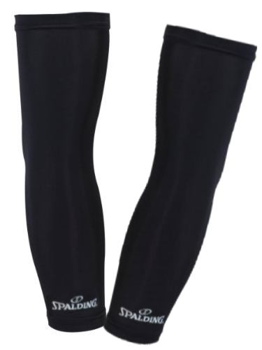 Spalding Shooting Compression Sleeves (Pack of two) - Black-L SP-3009284-02