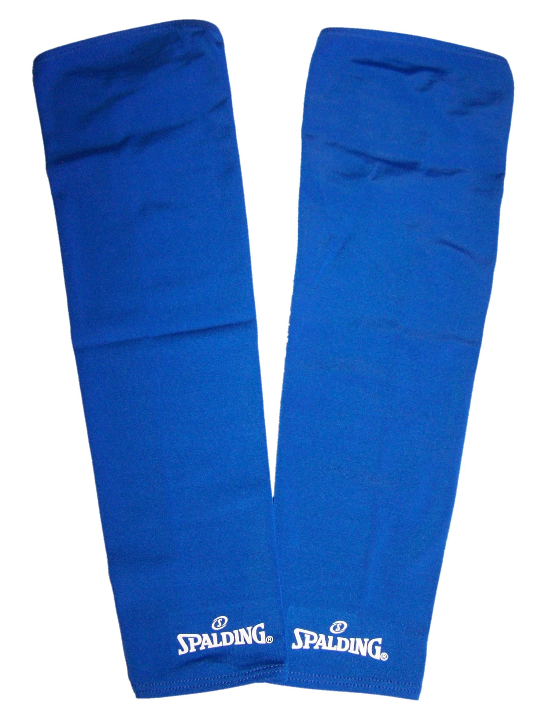 Spalding Shooting Compression Sleeves (Pack of two) - Blue-L SP-3009284-04