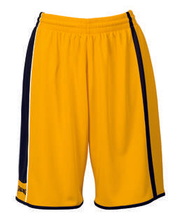 Spalding 4Her Basketball Shorts - Yellow/Black/White SP-3015444-05