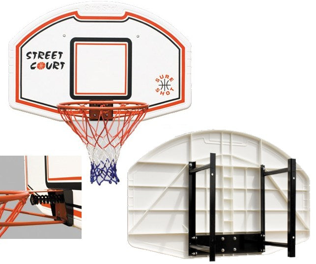 Sure Shot na 507 Model Basketball Ring With Wall Bracket SS-63507/310