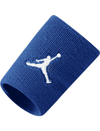 Nike Jordan Jumpman Wristbands - Game Royal/White