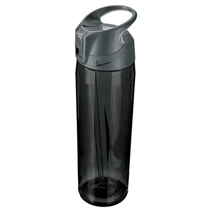 Nike Training Hypercharge Straw Water Bottle 32oz - Anthracite/Cool Grey/White