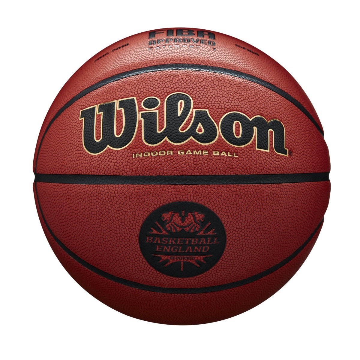 Wilson Basketball England Solution Official Game Ball - Tan - Size7 - WL-WTB0616XBBE
