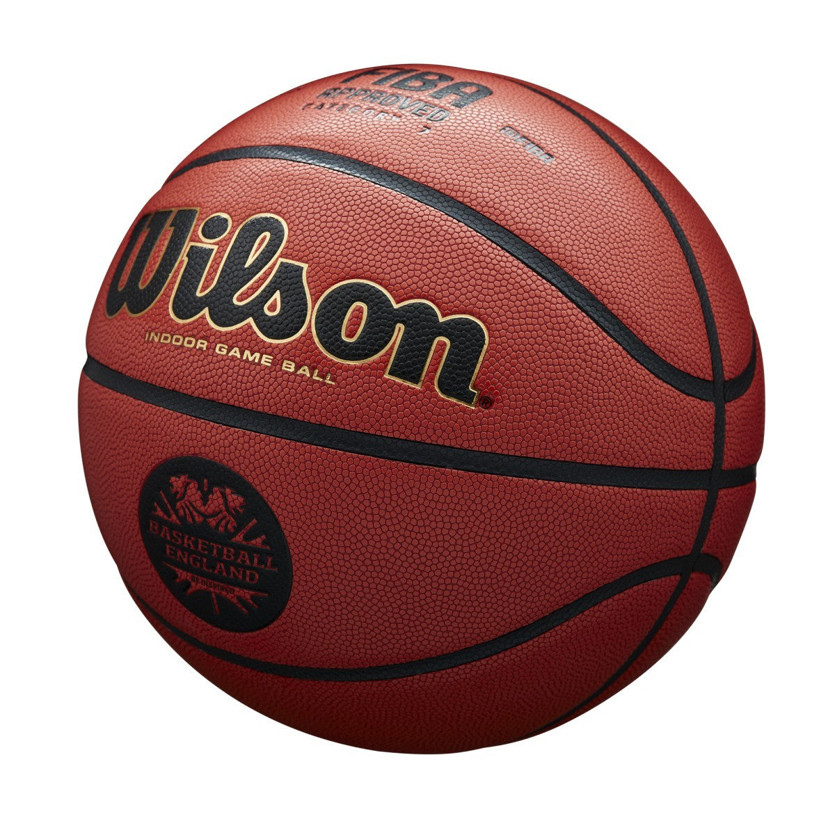 Wilson Basketball England Solution Official Game Ball - Tan