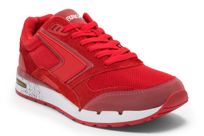 Brooks Fusion Men Red / 11 Sports Shoes India