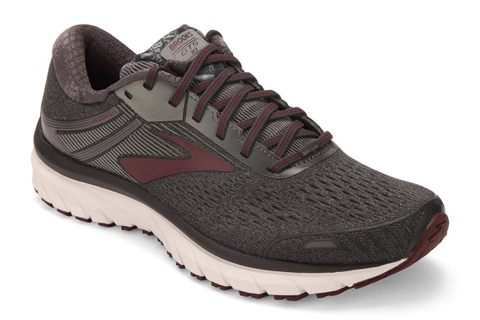 Brooks Berkshire Hathaway Adrenaline GTS 18 Men Grey / 8.5 Sports Shoes India