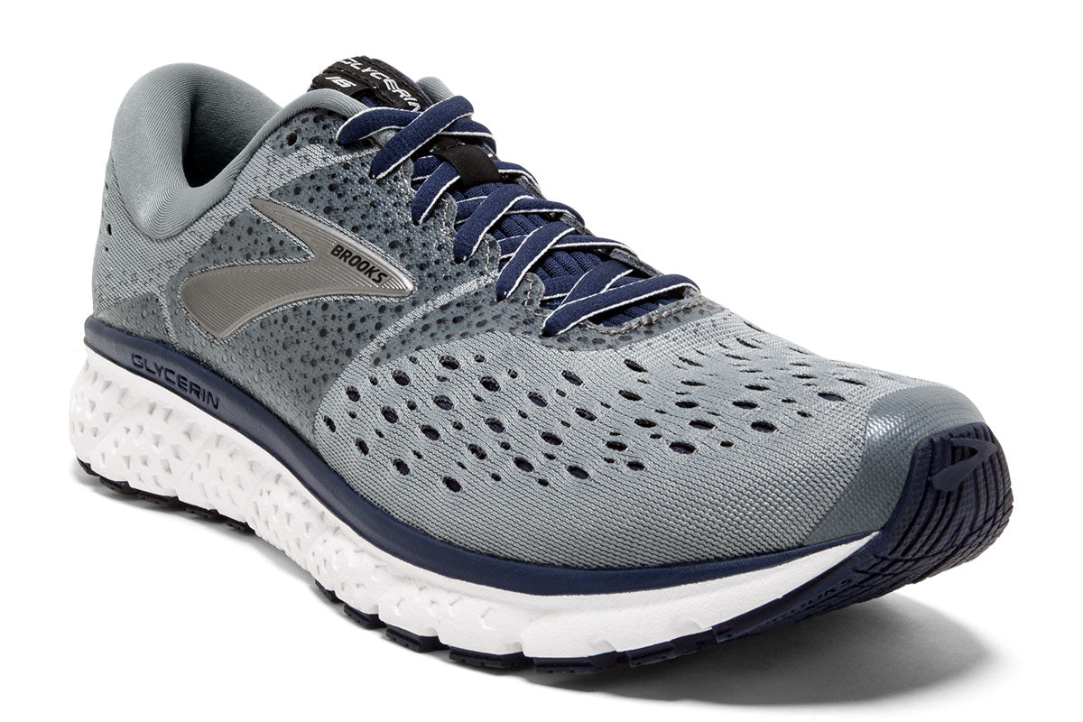 Brooks Glycerin 16 Men Grey / 12 Sports Shoes India