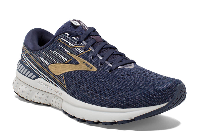 Brooks Adrenaline GTS 19 Men Navy Blue / 12 Sports Shoes India