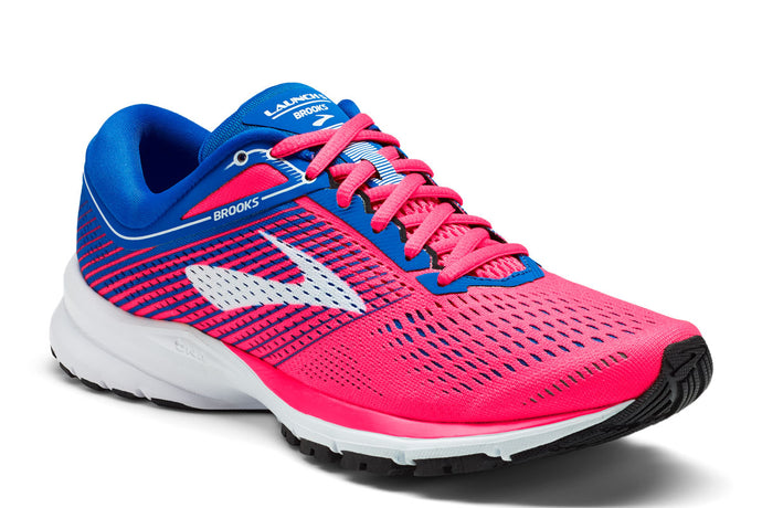 Brooks Launch 5 Women Pink / 7 Sports Shoes India