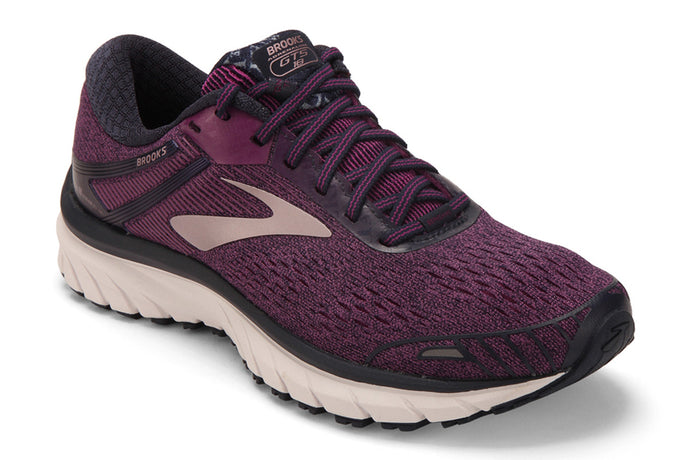 Brooks Berkshire Hathaway Adrenaline GTS 18 Women Purple / 7.5 Sports Shoes India