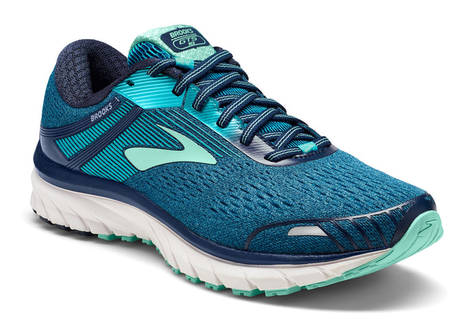 Brooks Adrenaline GTS 18 Women Blue / 8 Sports Shoes India