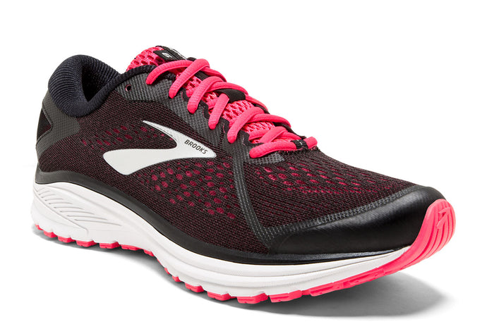 Brooks Aduro 6 Women Pink / 8 Sports Shoes India
