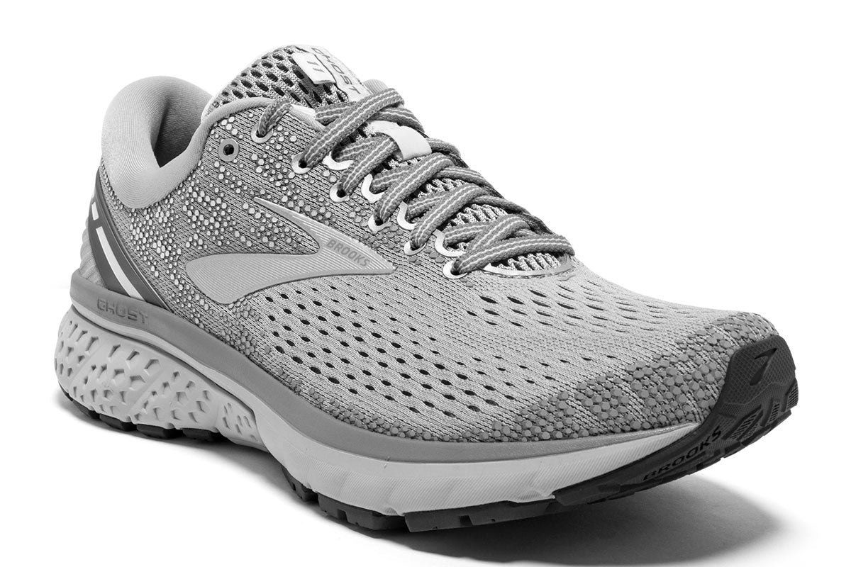 Brooks Ghost 11 Women Grey / 8 Sports Shoes India