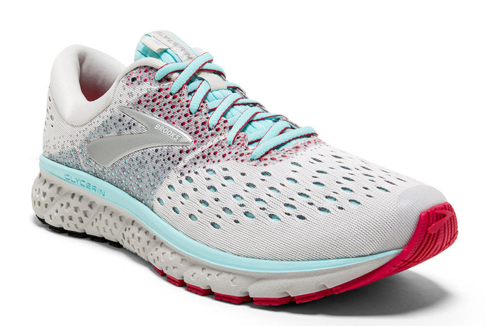 Brooks Glycerin 16 Women White / 8 Sports Shoes India