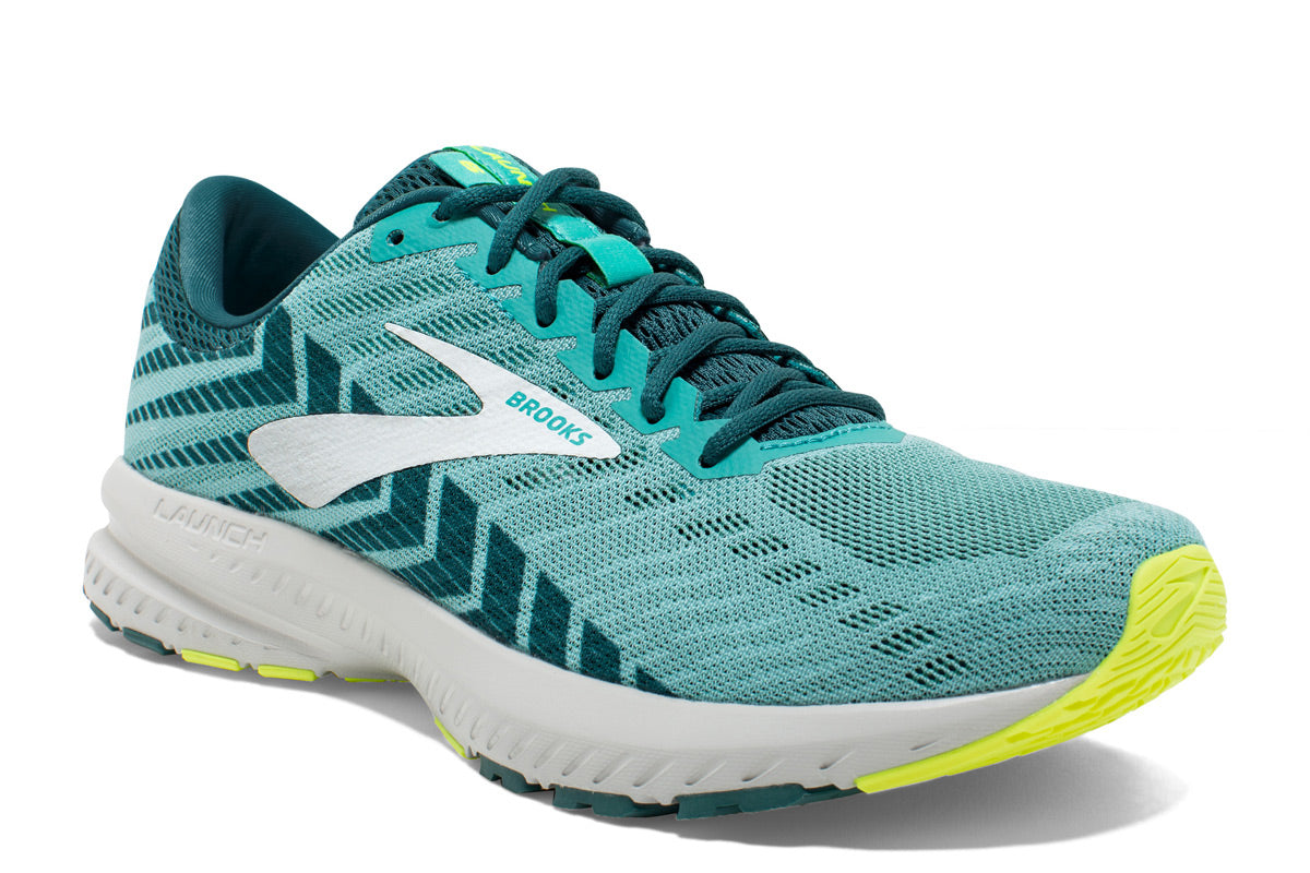 Brooks Launch 6 Women Blue / 4 Sports Shoes India