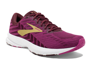 Brooks Launch 6 Women Purple / 4 Sports Shoes India