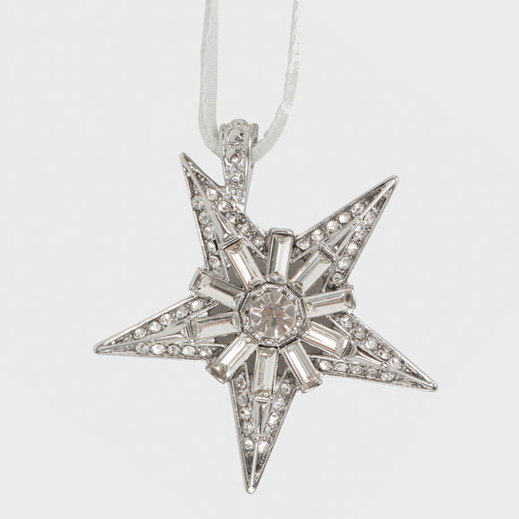 Crystal Star Hanging Ornament