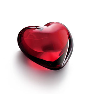 Coeur Amor Heart Red, Baccarat