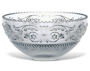 Arabesque Large crystal serving bowl by Baccarat
