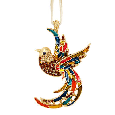 Joyful Bird Hanging Ornament