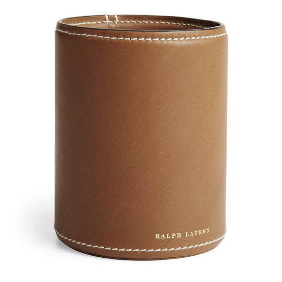 Brennan Pencil Cup - Saddle, Ralph Lauren Home