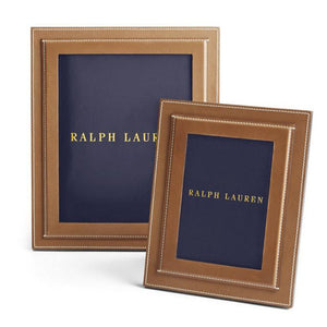 Brennan Frame, Saddle - Ralph Lauren Home