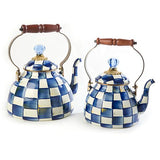 Royal Check Tea Kettle - 2 Quart
