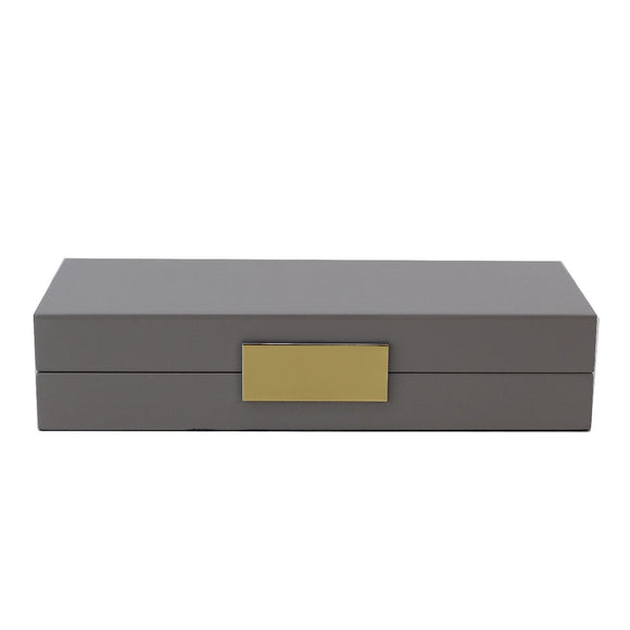 Chiffon Lacquer Jewlery Box With Gold