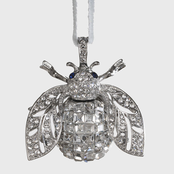 Sparkle Bee Hanging Ornament _ Crystal
