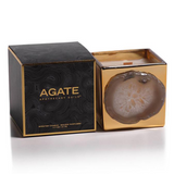 Agate Gold Candle Jar - Oceana