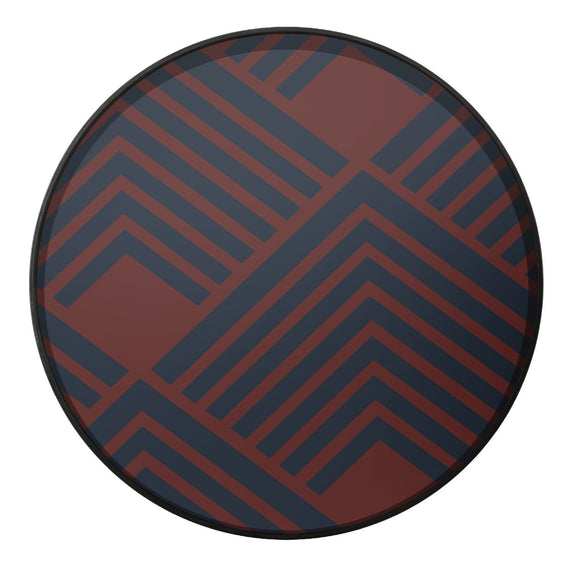 Midnight Chevron Tray