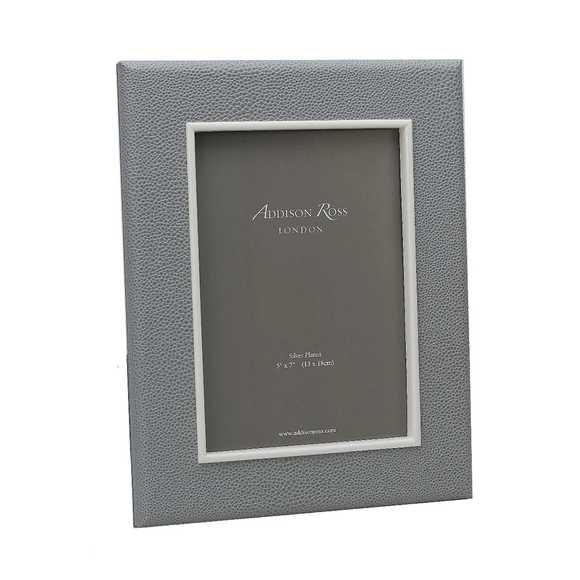Grey Shagreen Frame 4x6