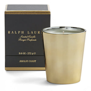 Amalfi Coast Scented Candle ralph lauren gold