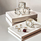 Dice & Dice set of 5, Baccarat