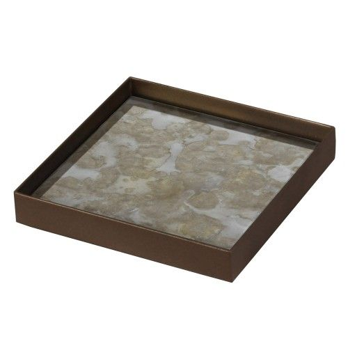 Fossil organic mini tray - Small, ethnicraft