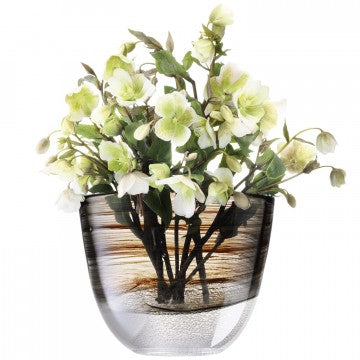 Forest Vase col. Bark, LSA International