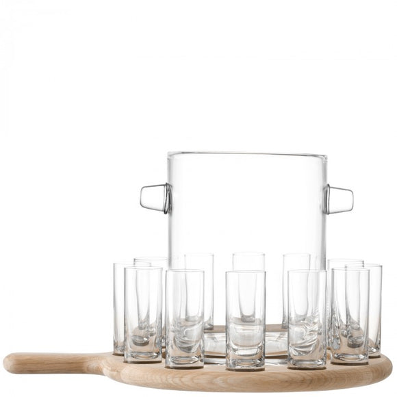 Paddle Vodka Serving Set