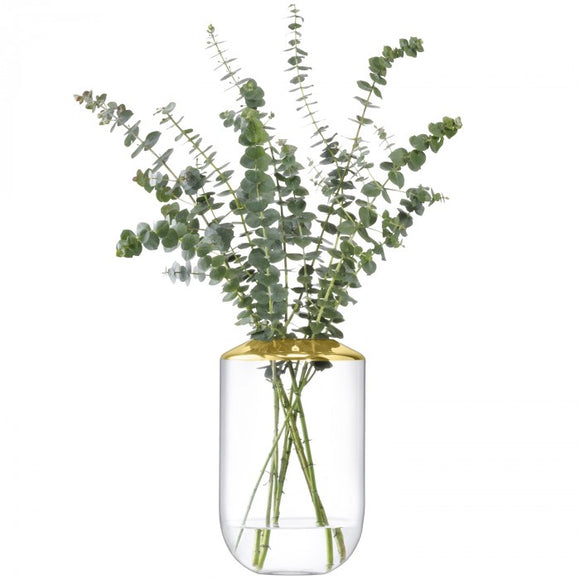 Space Vase Gold H: 25cm
