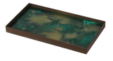 Malachite organic mini tray by ethnicraft