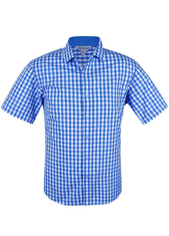 Corporate Apparel - AP Business Mens Shirt Short Sleeve Devonport